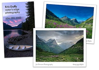 Photo + Portfolio Cards